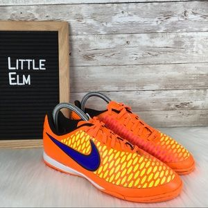 Nike Magista Indoor Soccer Shoes Orange Youth